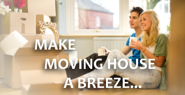 Make moving house a breeze